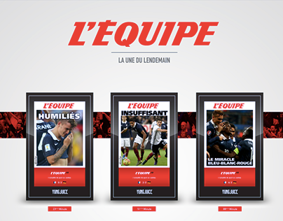 L'Équipe - The next day front page
