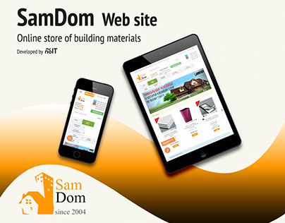 Website development for online store SamDom