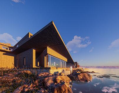 Japan Lake House