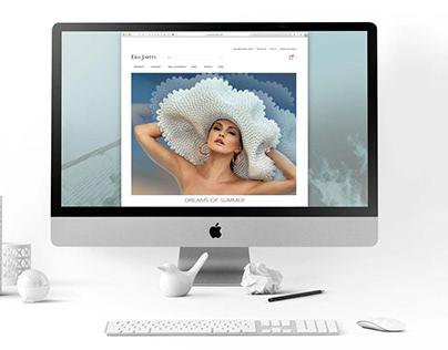Web page design. Spring/ Summer 2019