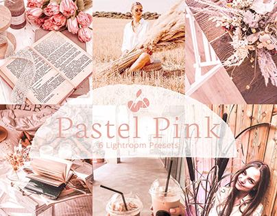 Pastel Pink Collection Lightroom Mobile Presets