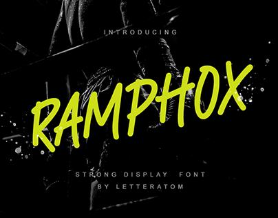 Ramphox Font Display