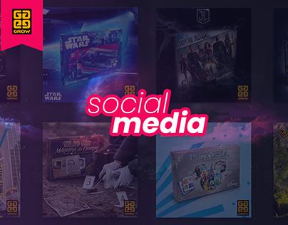 Grow Jogos & Brinquedos | Social Media