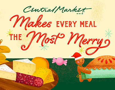 Central Market Most Merry