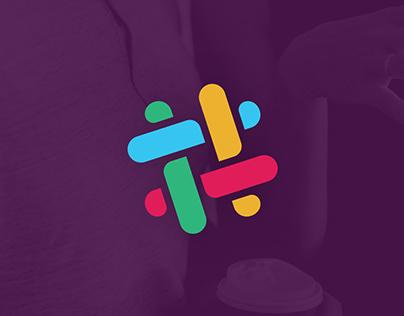 Slack — Rebranding concept