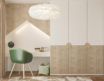 APARTMENT PROJECT 01|Children's Room Design|