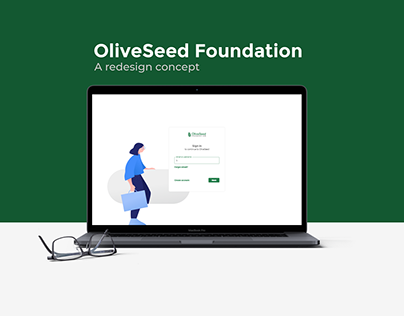 OliveSeed Foundation. A redesign conception