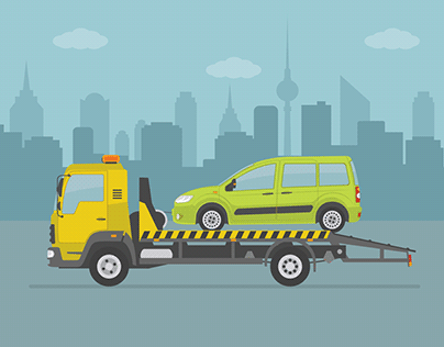 Flatbed towing service Rite Way Towing
