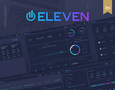 Eleven – Dashboard for brand promotion