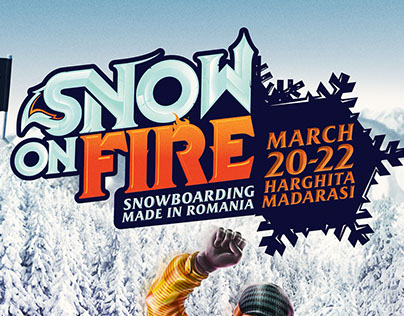 POSTER - Burn Snow On Fire 2015
