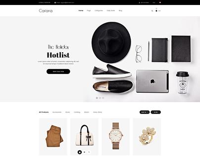 Cariana - Fashion LookBook