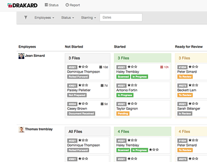 Drakard | Workload Management App