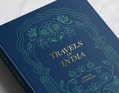 Travels in India: Cover Illustration