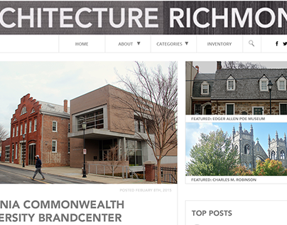 Architecture Richmond (Redesign WIP)
