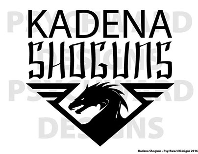 Kadena Shoguns T-Shirt Logos