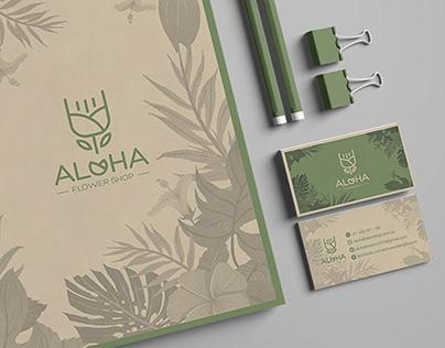 BRANDING - ALOHA FLOWER