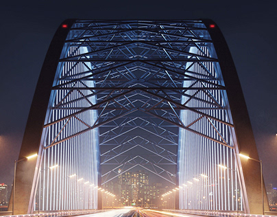 Mesmerizing Podilskiy Bridge, Kyiv