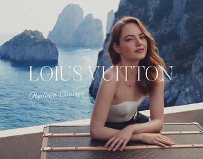 Louis Vuitton redesign   E-commerce