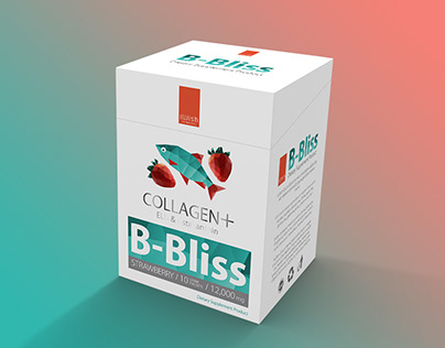 B Bliss Collagen - Packaging Design