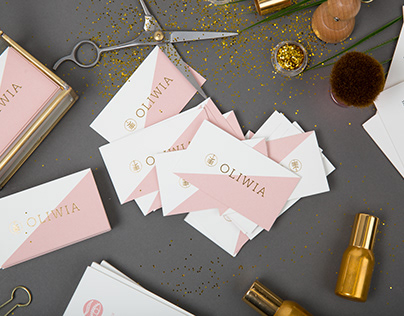 branding for beauty salon | Studio Urody Oliwia