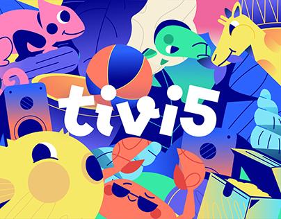 Tivi5 Rebranding
