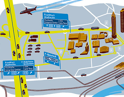 City Map Messe Frankfurt