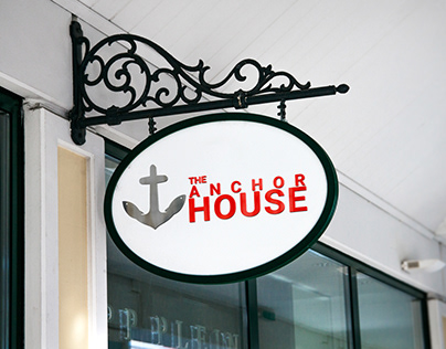 The Anchor House Branding Package