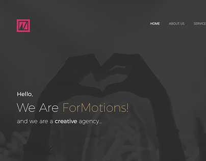 ForMotions - Agency Web Site Design