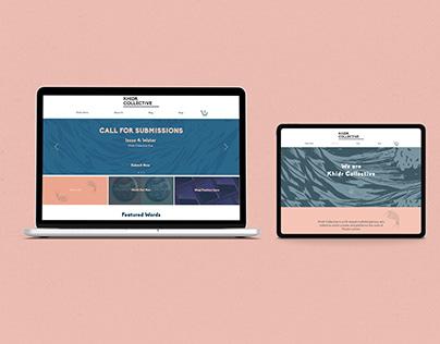 Khidr Collective - web design