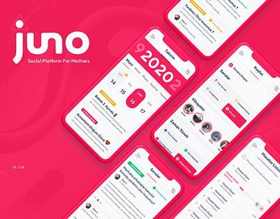 Juno - Mom Social Platform