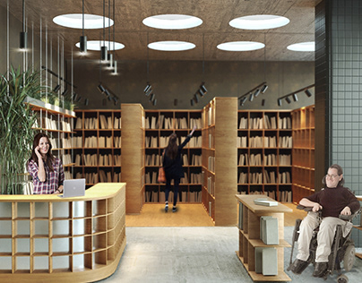 A library development project with a friendly environme