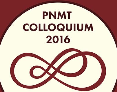 PNMT COLLOQUIUM 2016 LOGO
