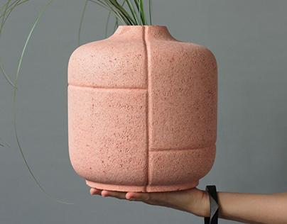 CURL UP+ vases