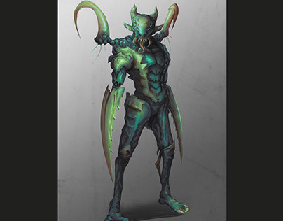 Locust character concept