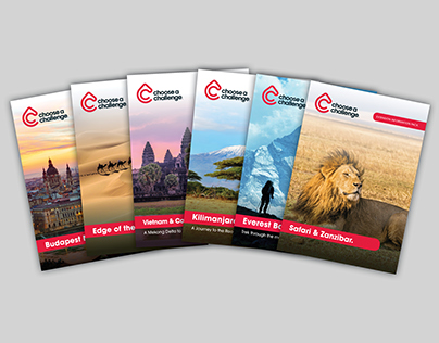 24 X Choose a Challenge - Brochure range