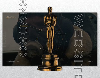 Oscars90 - Website Concept