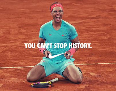 You can't stop history | Nike