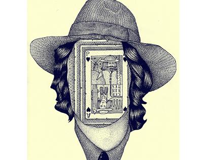 "Cervantes / ""Naše malo misto"" /Illustration"