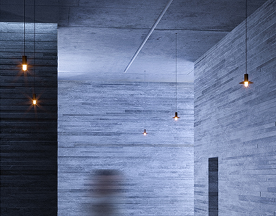Peter Zumthor / Therme Vals Visualization
