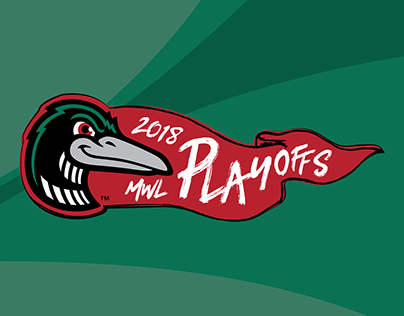 2018 Loons MWL Playoffs Logo