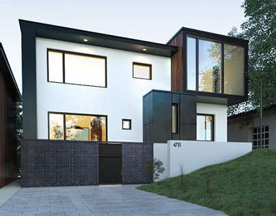 The black and white residence