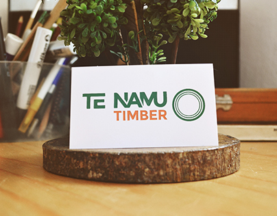 Te Namu Timber Brand Image