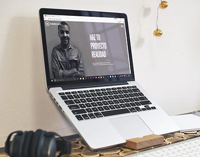 Sitio web Kevin Abreu