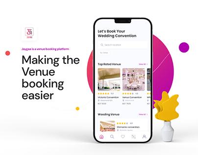 Jaygaa | Wedding Venue Booking App