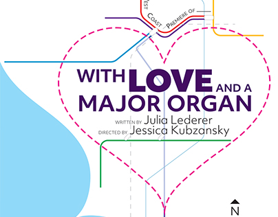 'With Love and a Major Organ' Key Art