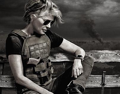 Terminator Dark Fate for Vanity Fair