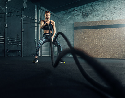 Crossfit with Hanna