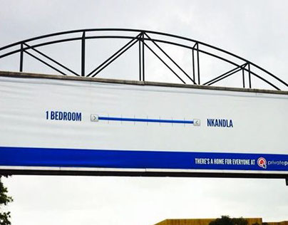 Nkandla Billboard - Private Property