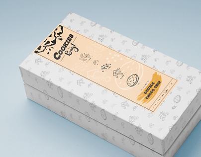 Branding & Packaging:  Cookies in a Bag