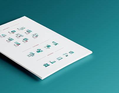Flat and line icons | Egnyte